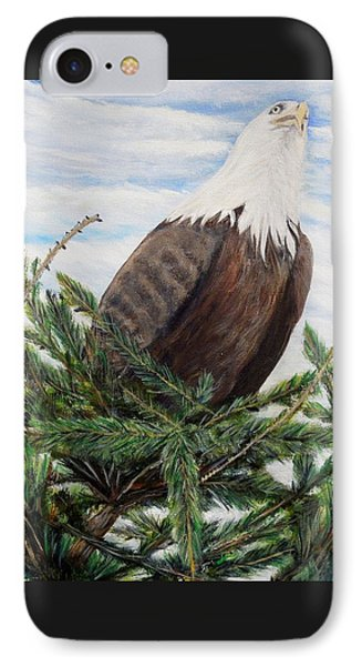IPhone Case featuring the painting The Oversee'er by Marilyn  McNish