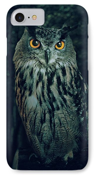 The Owl IPhone Case by Carlos Caetano