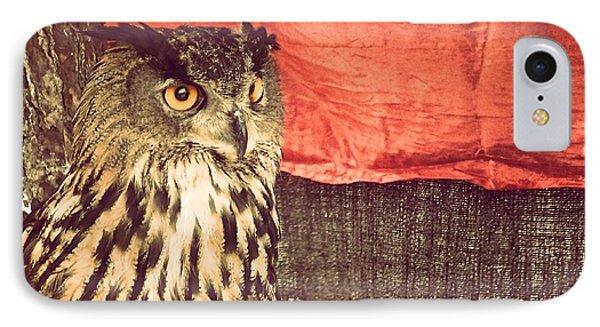 The Owl Phone Case by Pedro Venancio