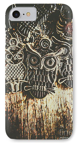 The Owlactic Gathering IPhone Case by Jorgo Photography - Wall Art Gallery