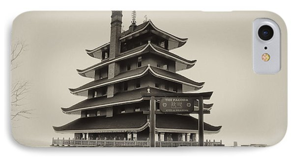 The Pagoda - Reading Pa. Phone Case by Bill Cannon