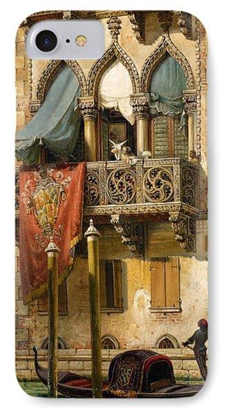 The Palazzo Contarini In Venice IPhone Case