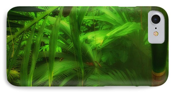IPhone Case featuring the photograph The Palm Forest  by Connie Handscomb