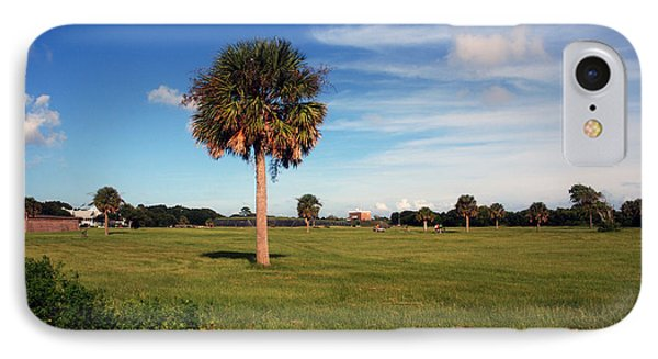 The Palmetto Tree Phone Case by Susanne Van Hulst