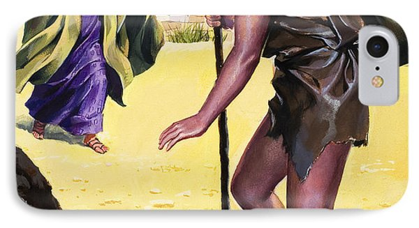 The Parable Of The Prodigal Son IPhone Case by English School