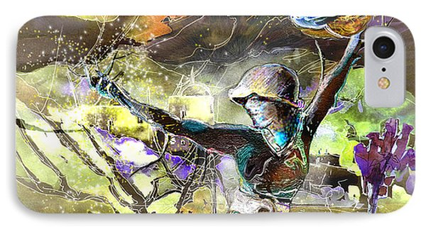 The Parable Of The Sower Phone Case by Miki De Goodaboom