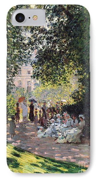 The Parc Monceau, 1878  IPhone Case