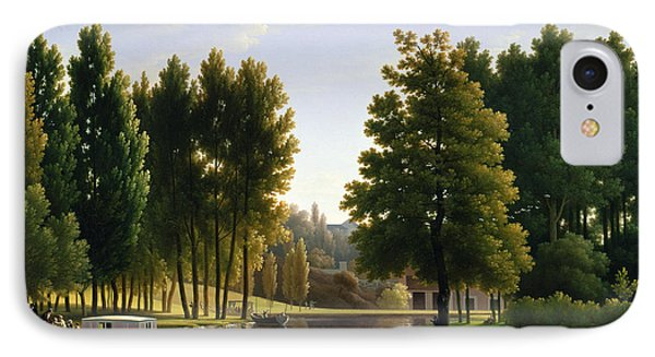 The Park At Mortefontaine Phone Case by Jean Bidauld