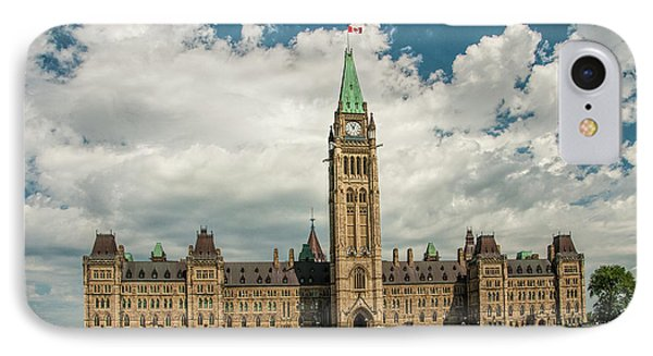 The Parliament Building In Ottawa Canada IPhone Case
