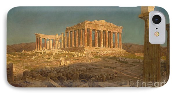 The Parthenon, 1871 IPhone Case