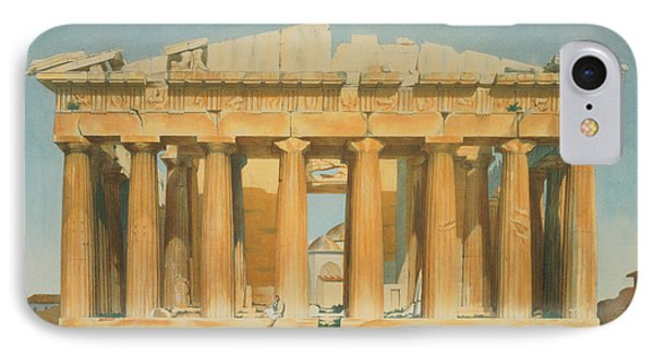 Architecture iPhone 7 Case - The Parthenon by Louis Dupre