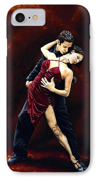 The Passion Of Tango IPhone Case by Richard Young