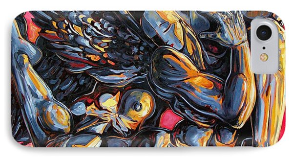 The Passion Of The Fallen Phone Case by Darwin Leon