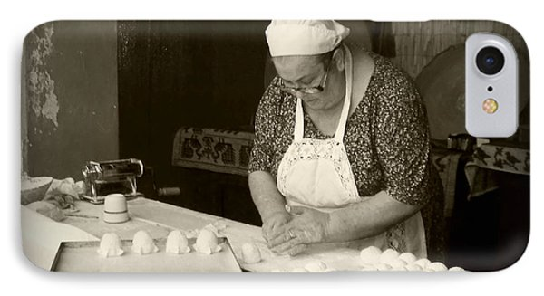 The Pastry Maker, Sardinia IPhone Case