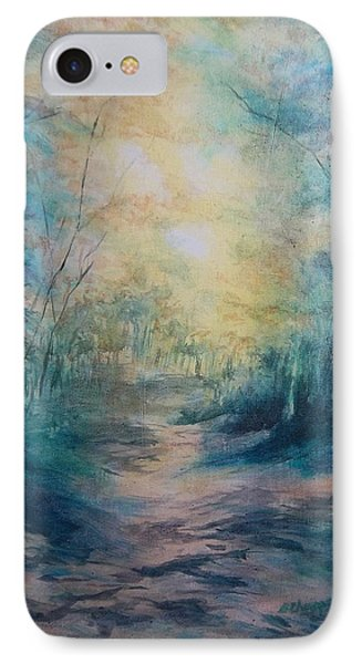 The Path IPhone Case by Becky Chappell