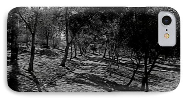 The Path In Abstract IPhone Case