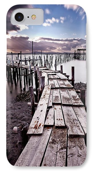 IPhone Case featuring the photograph The Path by Jorge Maia