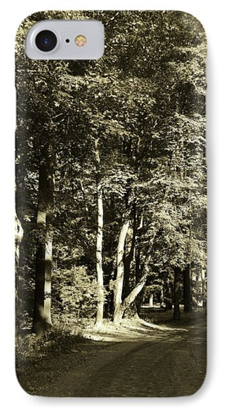 IPhone Case featuring the photograph The Path Less Traveled by John Schneider