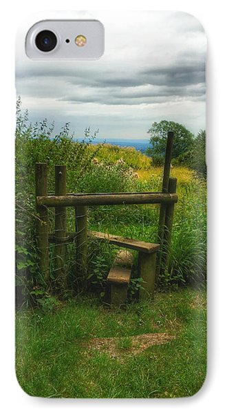 IPhone Case featuring the photograph The Path Most Traveled  by Connie Handscomb