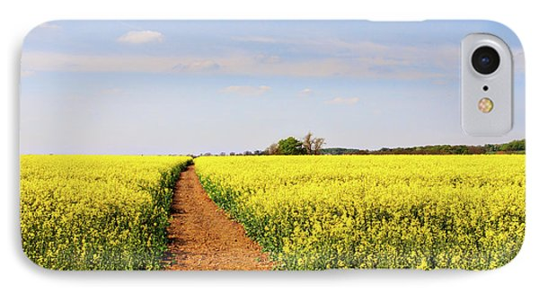 The Path To Bosworth Field IPhone Case by John Edwards
