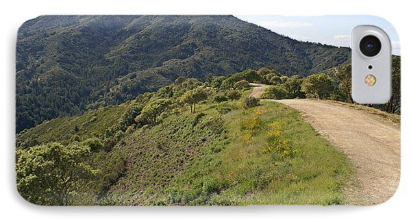 The Path To Tamalpais IPhone Case by Ben Upham III