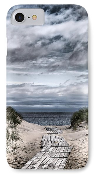 The Path To The Beach IPhone Case by Jouko Lehto