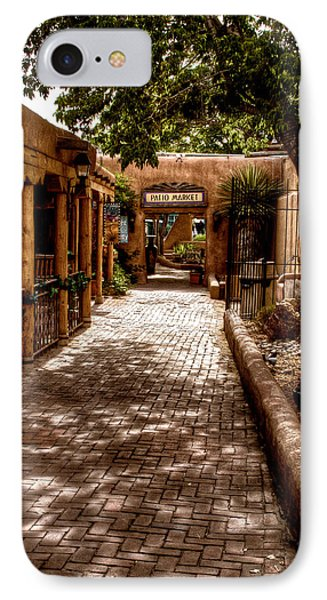The Patio Market Phone Case by David Patterson