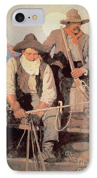 The Pay Stage IPhone Case by Newell Convers Wyeth