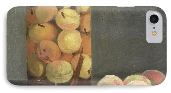 The Peach Glass Phone Case by Claude Monet