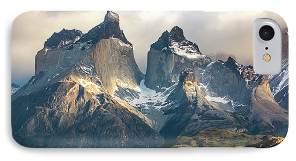 IPhone Case featuring the photograph The Peaks At Sunrise by Andrew Matwijec
