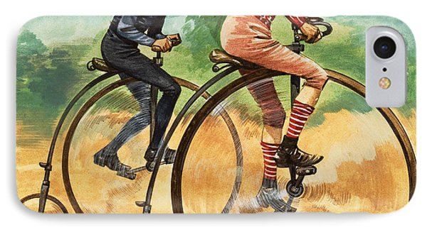 The Penny Farthing IPhone Case by Peter Jackson