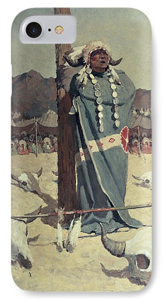 The Petition IPhone Case by Newell Convers Wyeth