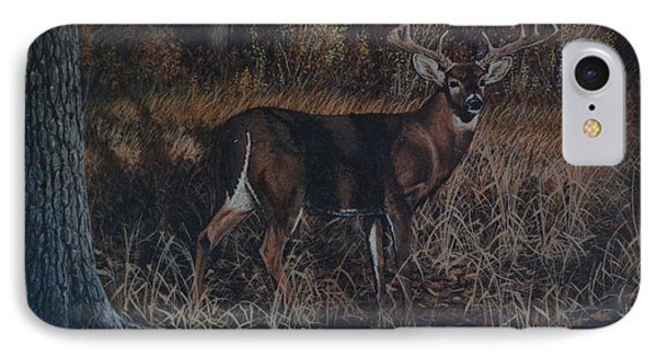 The Phantom Buck IPhone Case by Michael Wawrzyniec