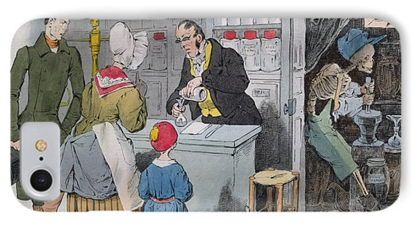 The Pharmacist And His Assistant IPhone Case by Grandville