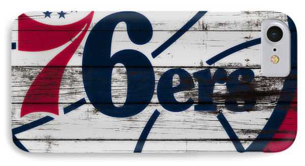 The Philadelphia 76ers 3a        IPhone Case by Brian Reaves