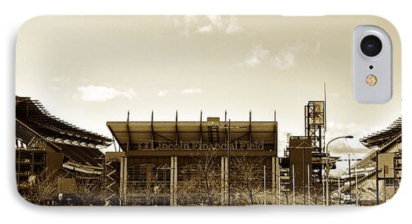 The Philadelphia Eagles - Lincoln Financial Field Phone Case by Bill Cannon
