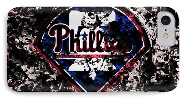 The Philadelphia Phillies IPhone Case by Brian Reaves
