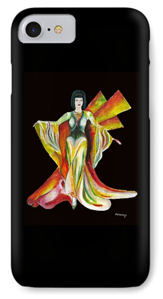 The Phoenix 2 IPhone Case by Tom Conway