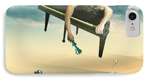 The Pianist  Phone Case by Mark Ashkenazi