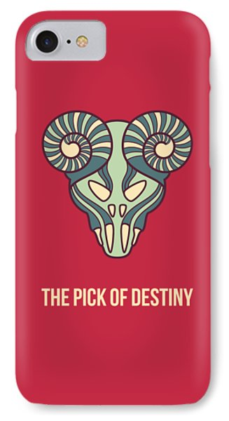 The Pick Of Destiny IPhone Case by Freshinkstain