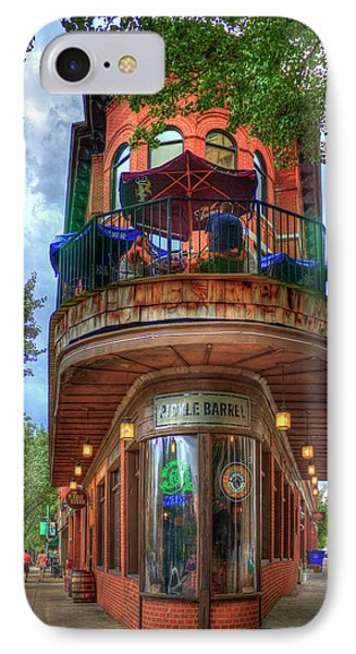 IPhone Case featuring the photograph The Pickle Barrel Chattanooga Tn Art by Reid Callaway
