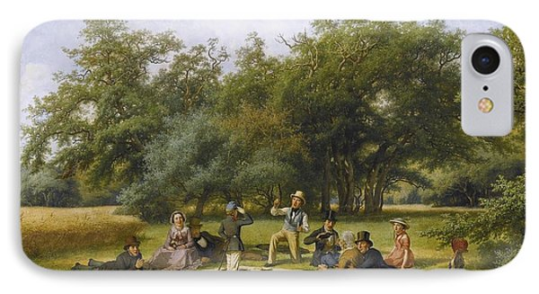The Picnic IPhone Case by Celestial Images