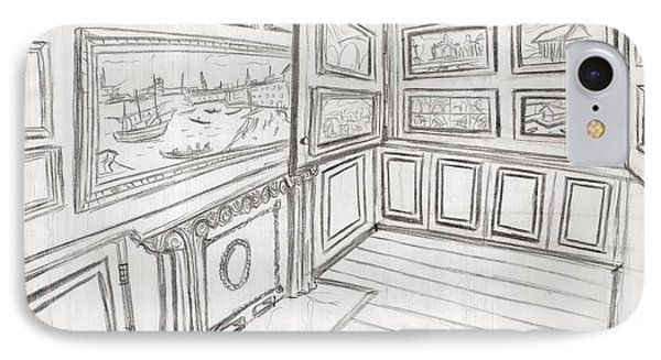 The Picture Gallery At The Soane Museum 2 IPhone Case