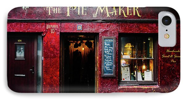The Pie Maker IPhone Case by Lexa Harpell