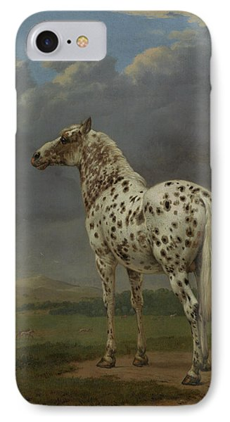 The Piebald Horse By Paulus Potter  IPhone Case by Esoterica Art Agency
