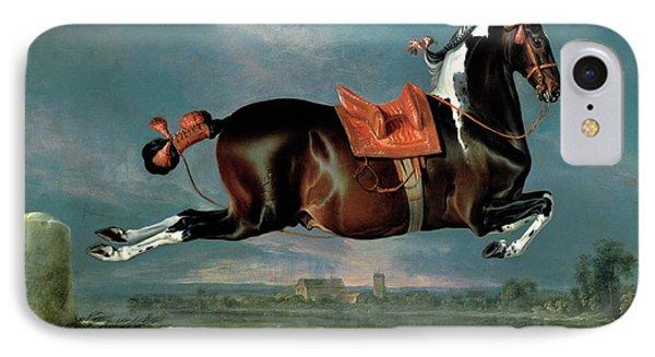 The Piebald Horse Phone Case by Johann Georg Hamilton