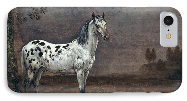 The Piebald Horse Phone Case by Paulus Potter
