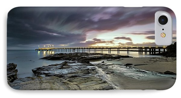 The Pier @ Lorne IPhone Case by Mark Lucey