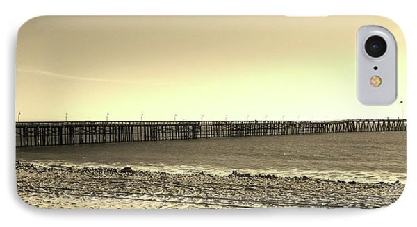 The Pier IPhone Case by Mary Ellen Frazee