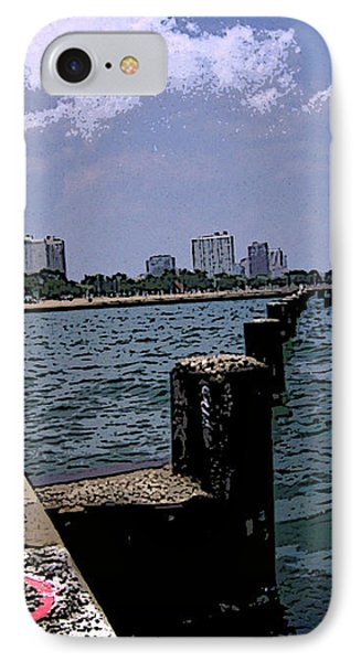 The Pier IPhone Case by Skyler Tipton